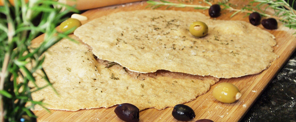 Crisp Rosemary Flatbread | Fall In Love With Food Again