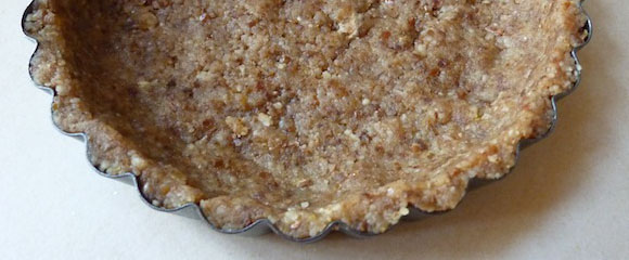 Honey, Nut, and Date Pie Crust | Fall In Love With Food Again