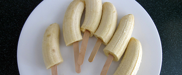 Frozen Banana on a Stick | Fall In Love With Food Again