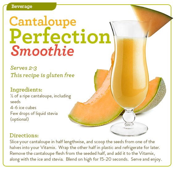 Cantaloupe Perfection Smoothie