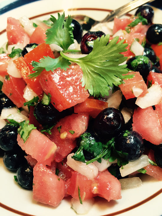 Blueberry Pico De Gallo