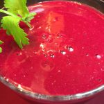 Strawberry Beet smoothie
