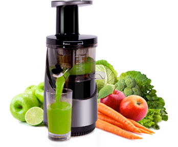 Nuwave Slow Juicer Review : Halellujah Diet - NuWave Juicer Study