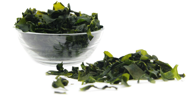 Raw or Sun Dried Seaweed Contains