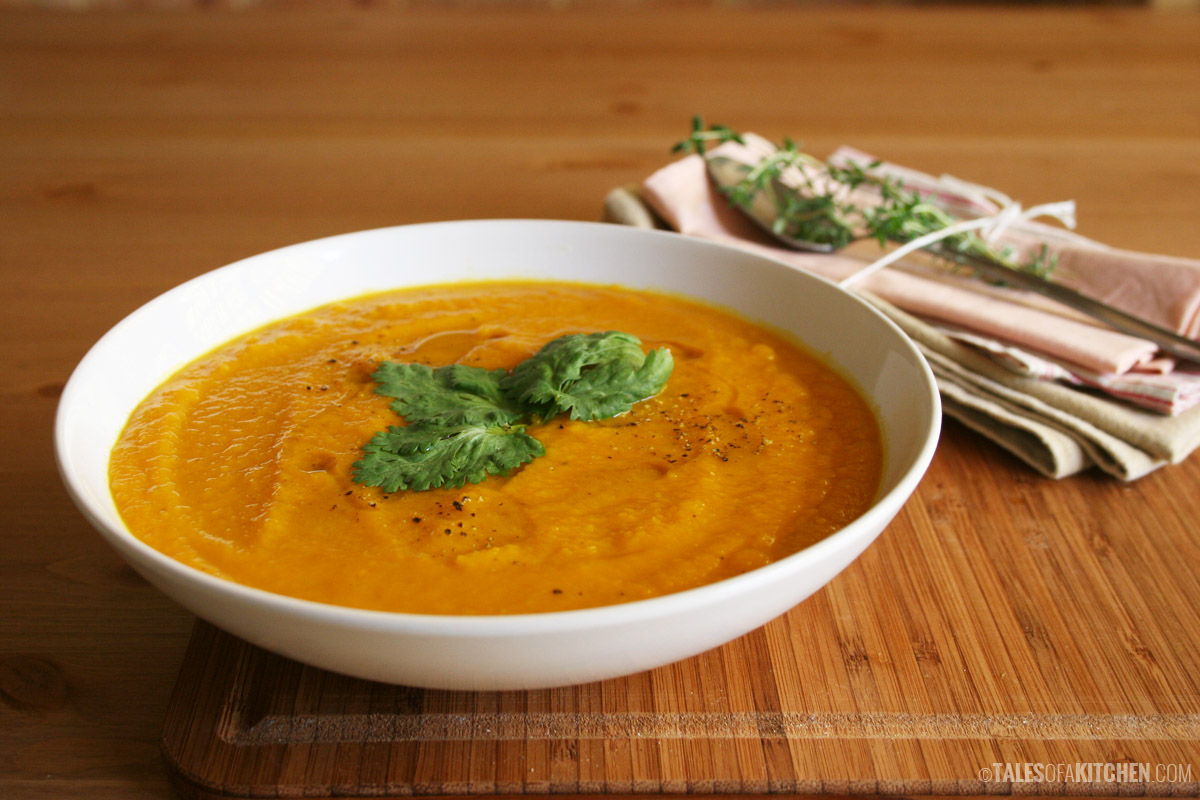 Curried Sweet Potato Soup - Health News from Hallelujah Diet