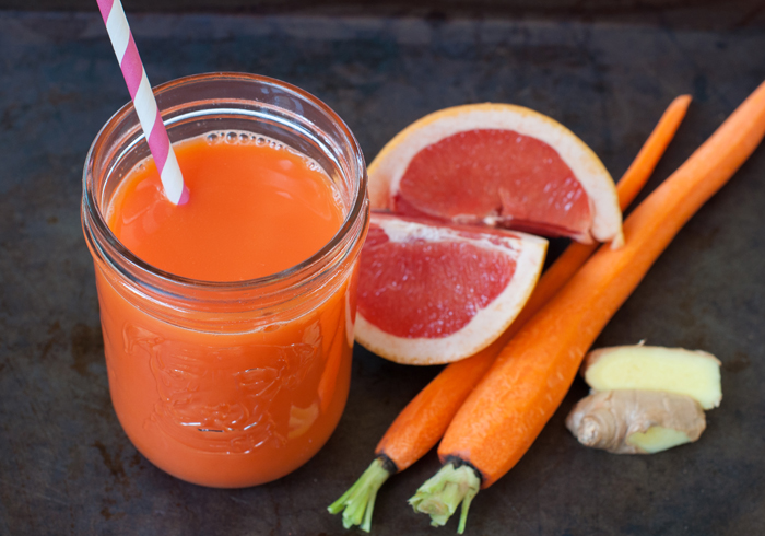Carrot Ginger Grapefruit Juice