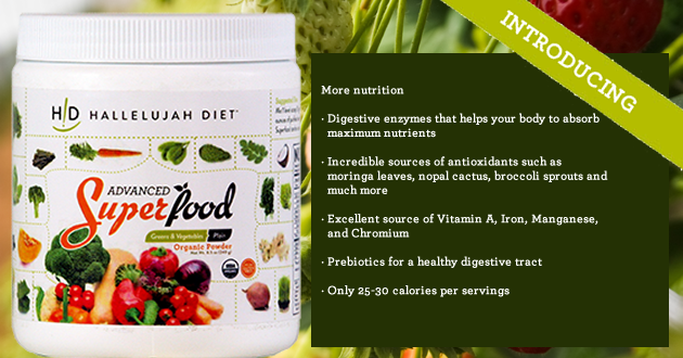 Introducing Advanced Organic Superfood by HDiet