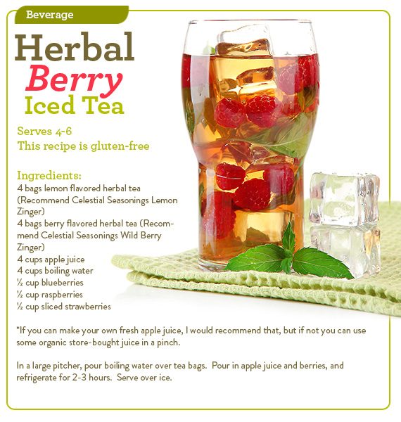 Herbal Berry Iced Tea