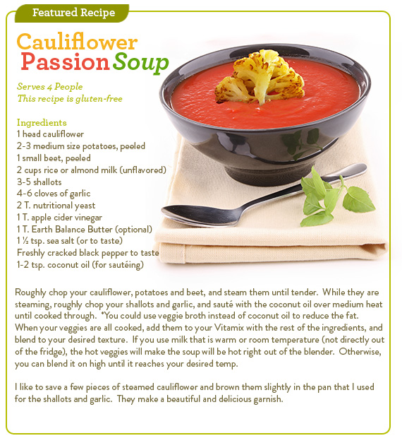 Cauliflower Passion Soup