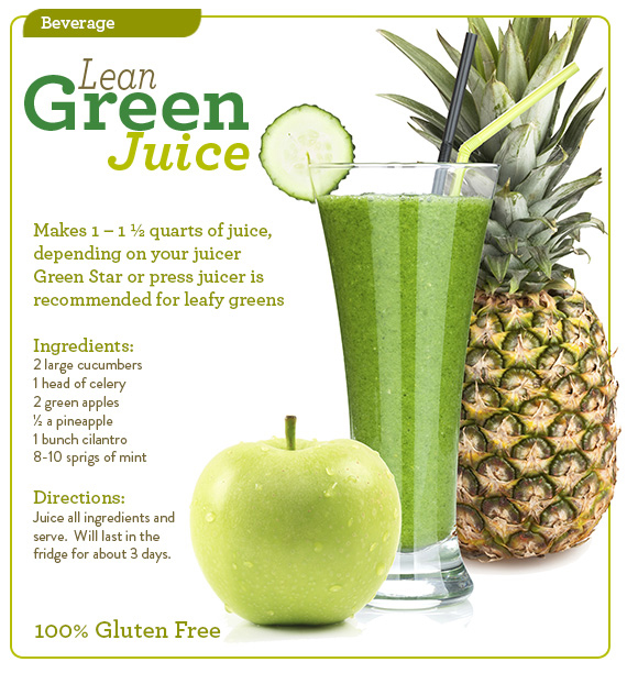 Rich's Lean Green Juice