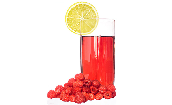 Oregano Raspberry Lemonade
