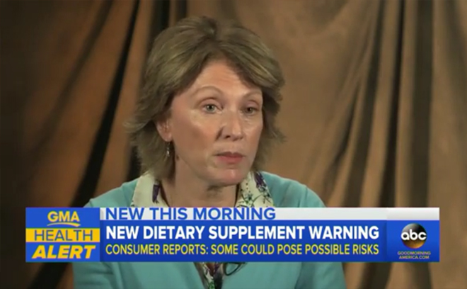 Consumer Reports Highlights Dietary Supplement Dangers - ABC News