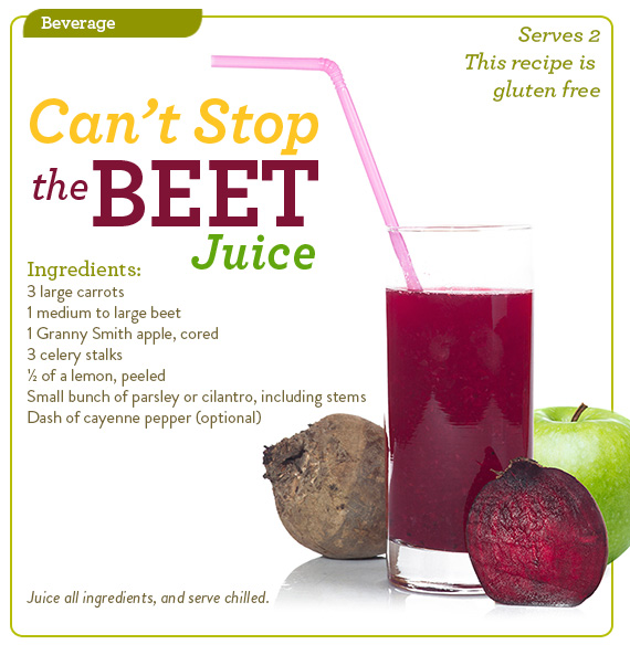 Can't Stop the Beet Juice