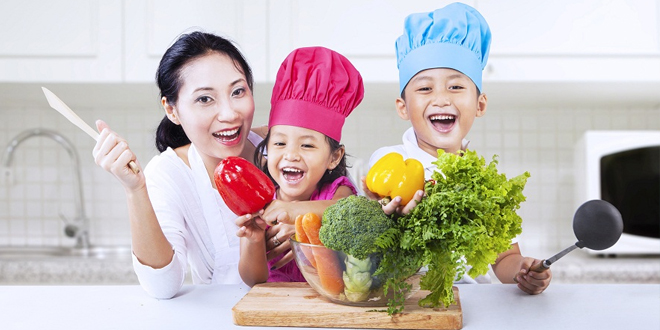 Have fun in the kitchen with your family with these recipes!
