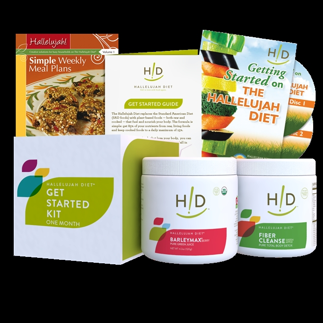 The transition to a plant-based diet can be overwhelming. Let our Get Started Kit guide the way to better health!