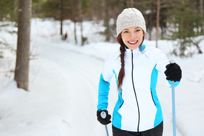 Don't put your exercise regimen on the back burner this winter.
