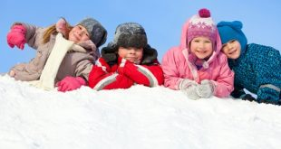 Here are a few healthy habits to teach your children this coming winter.