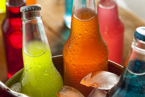 Carbonated beverages can lead to acid reflux.
