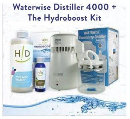 waterwise distiller 4000 the hydroboost kit