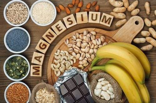healthy food containing magnesium