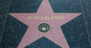 Jack Lalanne's Hollywood Walk of Fame star