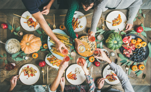 Vegan or vegetarian Thanksgiving
