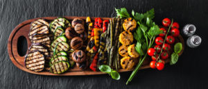 colorful Barbecue Vegetables