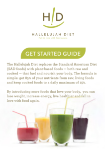 Hallelujah Diet - Meal Planner - Get Started Guide