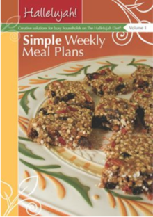 Simple Weekly Meal Plans - MyHD Planner