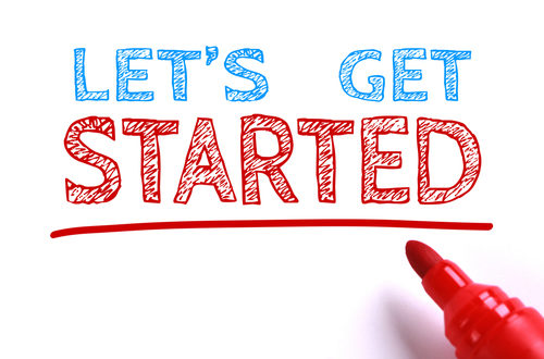 lets get started marker text
