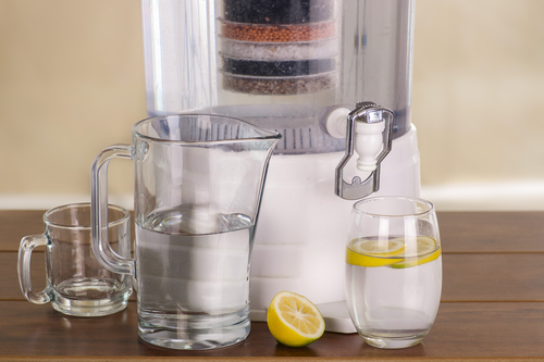 water purifying filter system