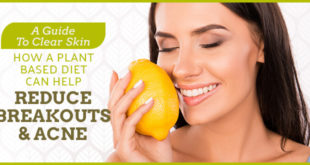 plant based diet to help reduce breakouts and acne