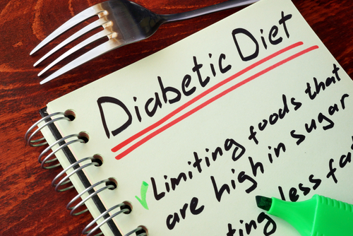 diabetic diet note page