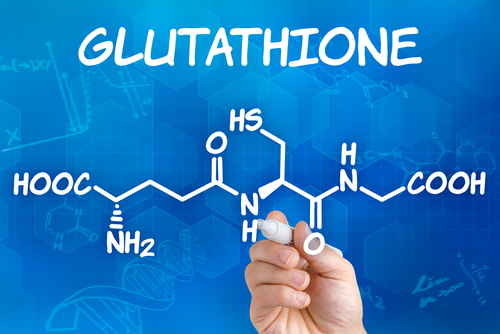 glutathione drawn chemical formula