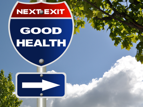 good-health-directional-road-sign