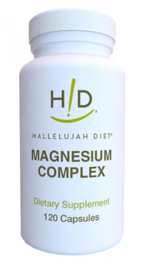 magnesium complex hallelujah diet supplement