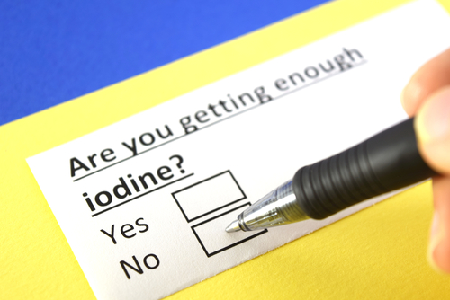 are you getting enough iodine question