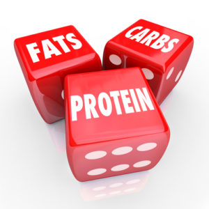 fats carbs protein die