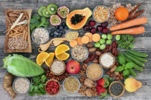 high dietary fiber diet foods