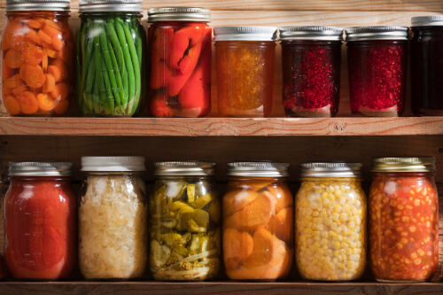 Canning Raw Fruits and Vegetables